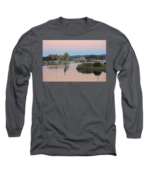 Peaceful Morning Long Sleeve T-Shirt by Betty Buller Whitehead