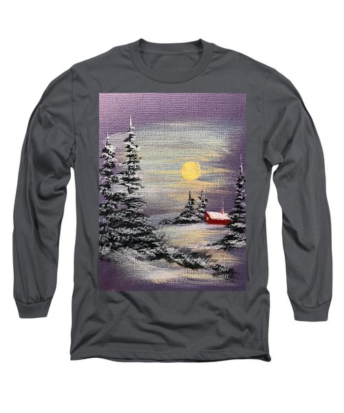 Peaceful Night Long Sleeve T-Shirt