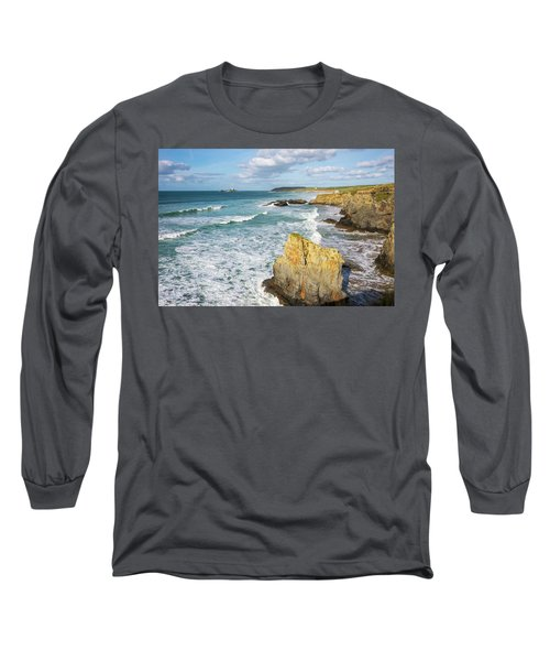 Peaceful Waves Long Sleeve T-Shirt