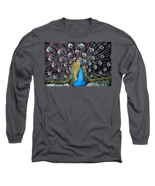 Peacock Long Sleeve T-Shirt