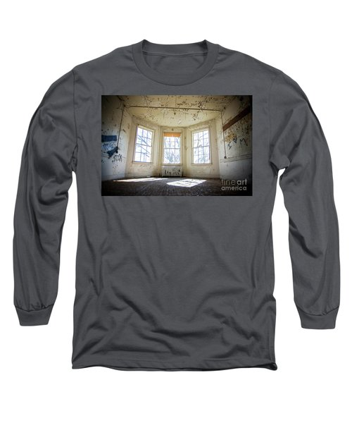 Long Sleeve T-Shirt featuring the photograph Pealing Walls by Randall Cogle