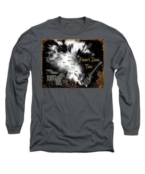 Pearl Jam Ten Long Sleeve T-Shirt