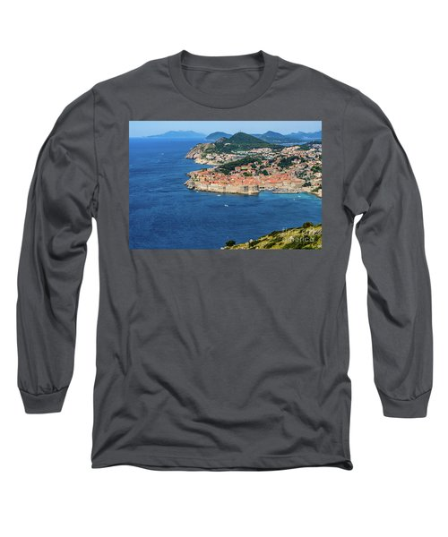 Pearl Of The Adriatic, Dubrovnik, Known As Kings Landing In Game Of Thrones, Dubrovnik, Croatia Long Sleeve T-Shirt