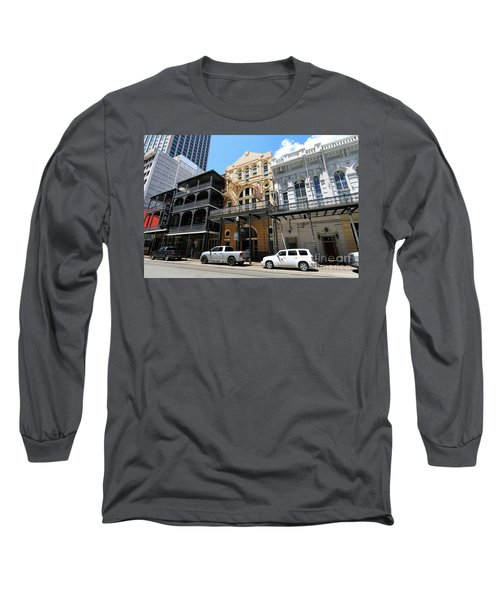 Long Sleeve T-Shirt featuring the photograph Pearl Oyster Bar by Steven Spak