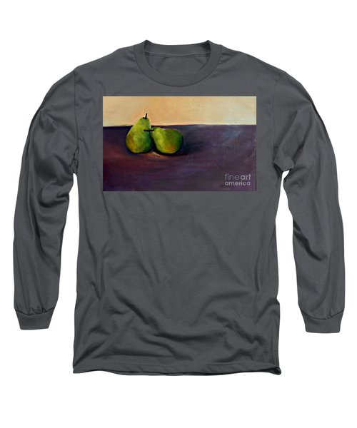 Pears One On One Long Sleeve T-Shirt by Daun Soden-Greene