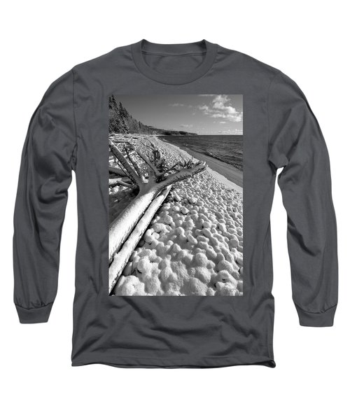 Pebble Beach Winter Long Sleeve T-Shirt