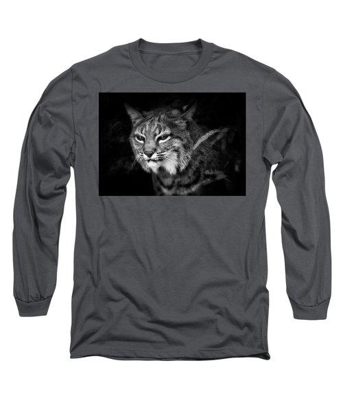 Peek A Boo Long Sleeve T-Shirt by Elaine Malott