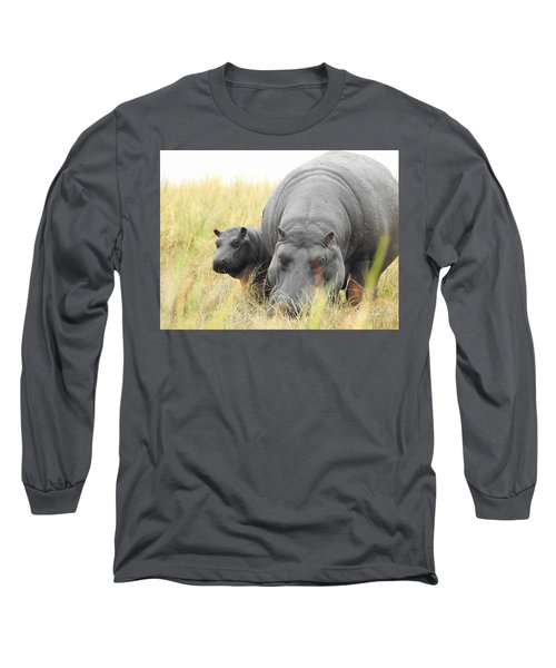Long Sleeve T-Shirt featuring the photograph Peek by Betty-Anne McDonald
