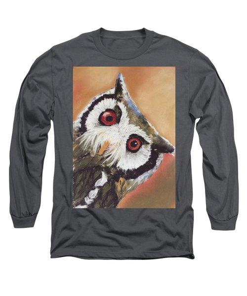 Peekaboo Owl Long Sleeve T-Shirt