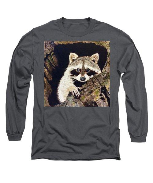 Peeking Out Long Sleeve T-Shirt