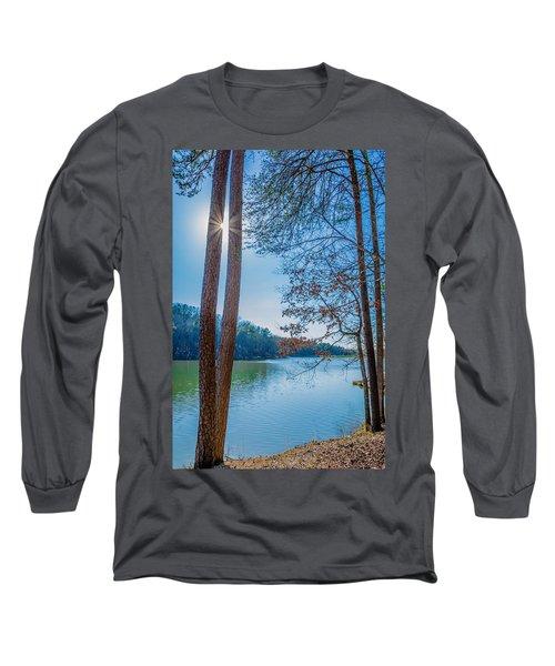 Peeping Sun Long Sleeve T-Shirt