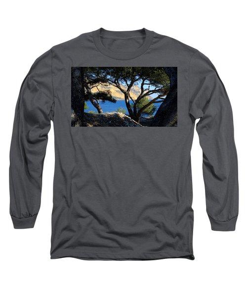 Peeping Through Pines Long Sleeve T-Shirt