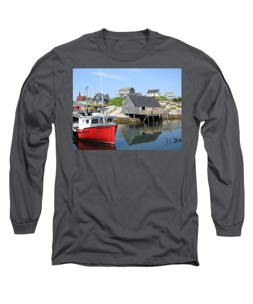 Peggy's Cove, Nova Scotia Long Sleeve T-Shirt
