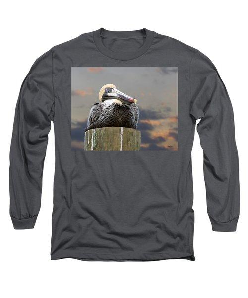 Pelican Perch Long Sleeve T-Shirt