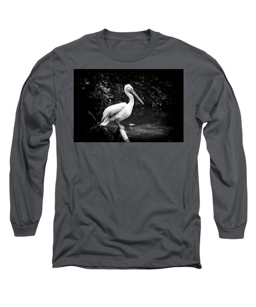Long Sleeve T-Shirt featuring the photograph Pelican by Traven Milovich