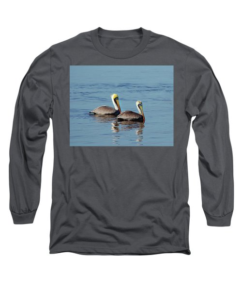 Pelicans 2 Together Long Sleeve T-Shirt