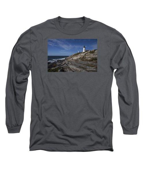 Pemaquid Lightouse Long Sleeve T-Shirt