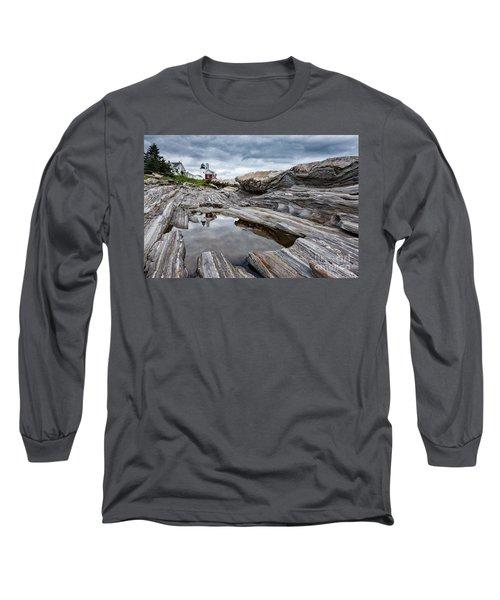 Pemaquid Point Lighthouse Long Sleeve T-Shirt
