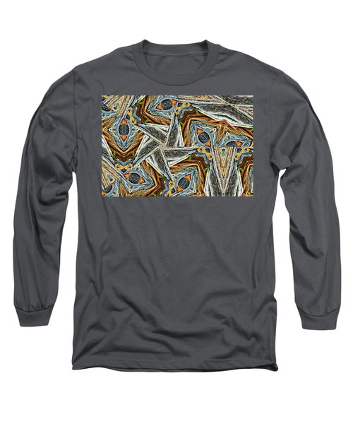 Pemaquid Rocks Pinwheel Long Sleeve T-Shirt