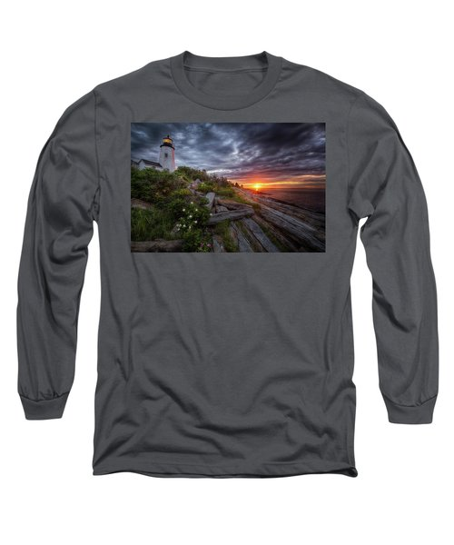Pemaquid Sunrise Long Sleeve T-Shirt