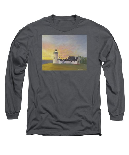 Pemaquid's First Light Long Sleeve T-Shirt