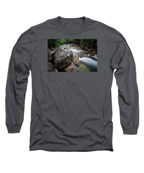 Pemi-basin Trail Long Sleeve T-Shirt by Michael Hubley
