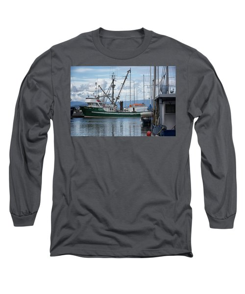 Pender Isle At French Creek Long Sleeve T-Shirt by Randy Hall