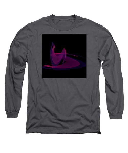 Long Sleeve T-Shirt featuring the painting Penman Oriiginal-290-intimacy by Andrew Penman