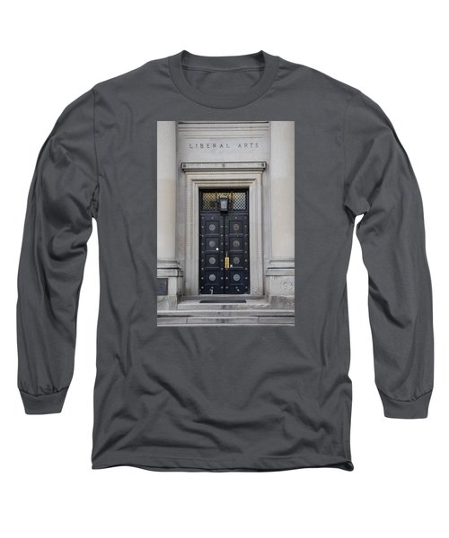 Penn State University Liberal Arts Door  Long Sleeve T-Shirt by John McGraw