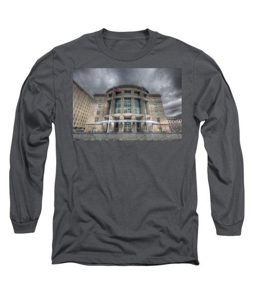 Pennsylvania Judicial Center Long Sleeve T-Shirt by Shelley Neff