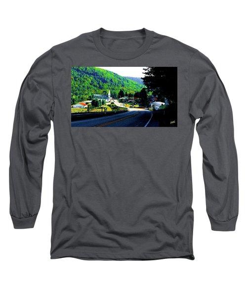 Pennsylvania Mountain Village Long Sleeve T-Shirt