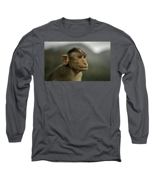 Long Sleeve T-Shirt featuring the photograph Penny For Your Thoughts by Chris Cousins
