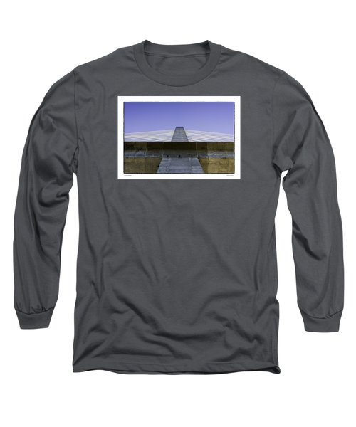 Penobscot Bridge Long Sleeve T-Shirt by R Thomas Berner