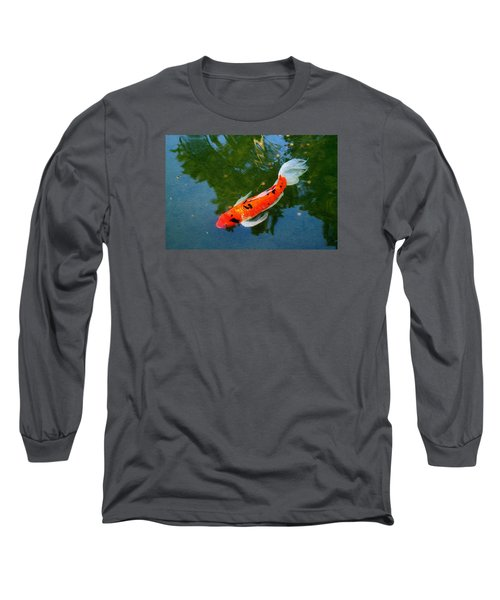 Pensive Koi Long Sleeve T-Shirt