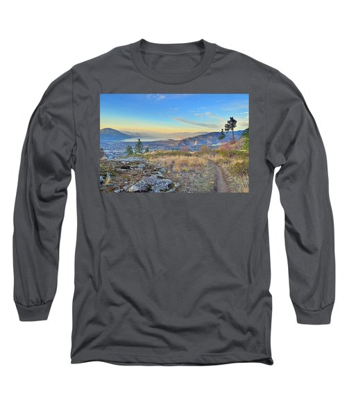 Long Sleeve T-Shirt featuring the photograph Penticton In The Distance by Tara Turner
