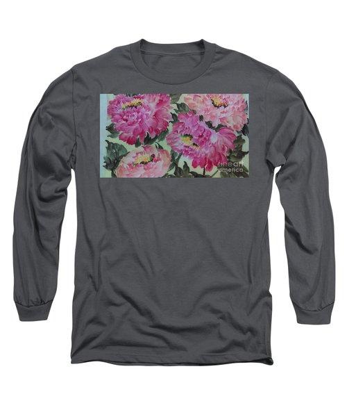 Peoney20161229_4 Long Sleeve T-Shirt
