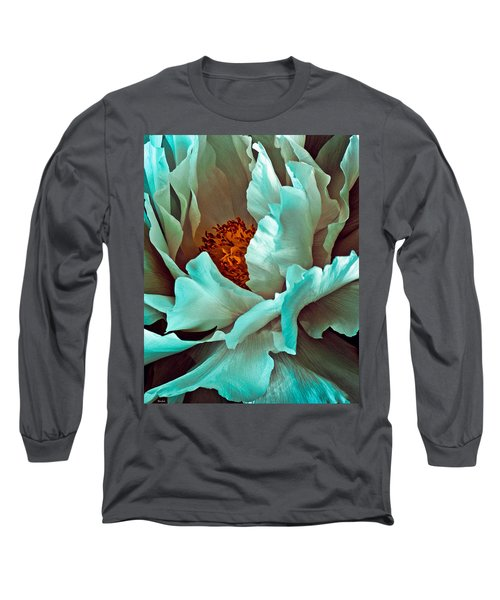 Peony Flower Long Sleeve T-Shirt