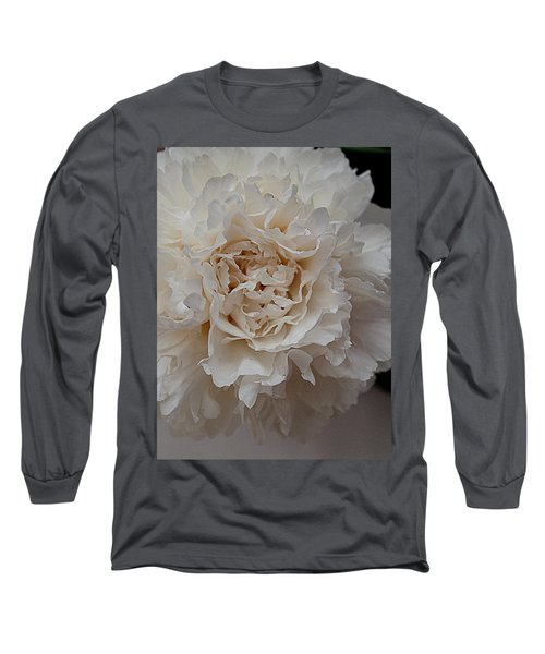 Long Sleeve T-Shirt featuring the photograph Peony Petals by Nancy Kane Chapman