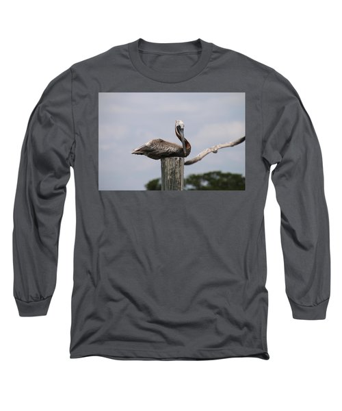 Waiting For Ship To Roll In Long Sleeve T-Shirt