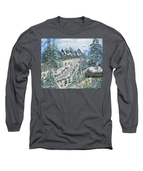 Per Il Mio Figlio Long Sleeve T-Shirt