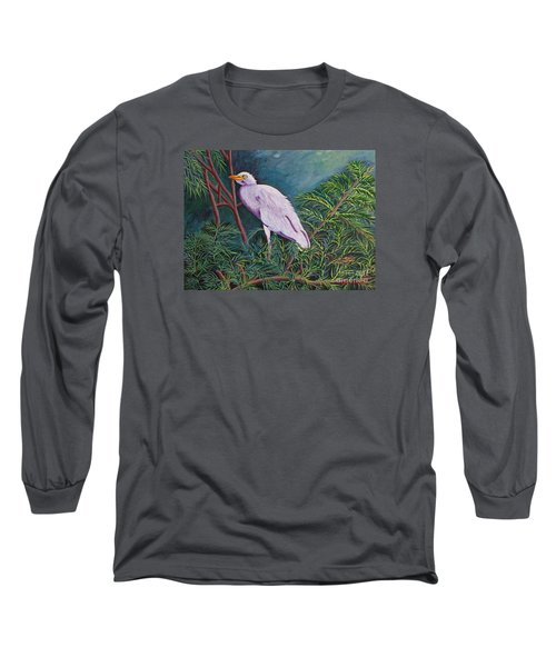 Perched On High Long Sleeve T-Shirt