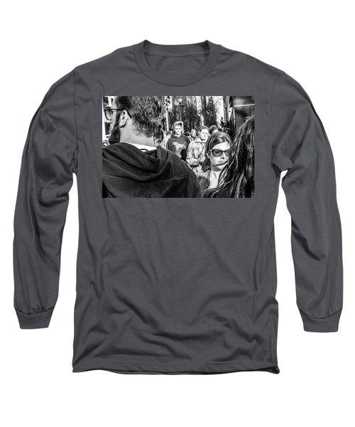 Percolate Long Sleeve T-Shirt by David Sutton