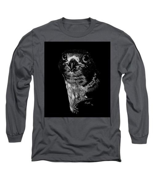 Peregrin Falcon Long Sleeve T-Shirt by Lawrence Tripoli