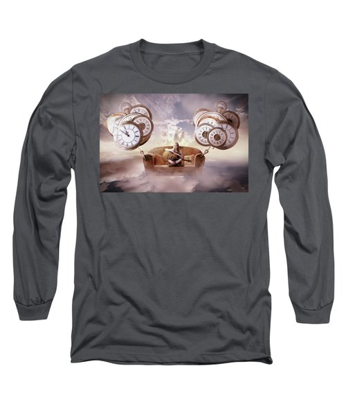 Perfect Timing  Long Sleeve T-Shirt by Nathan Wright