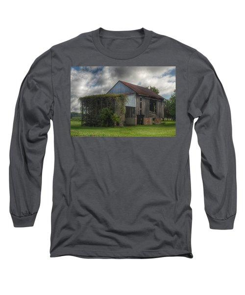 0038 - Pergola Barn Long Sleeve T-Shirt