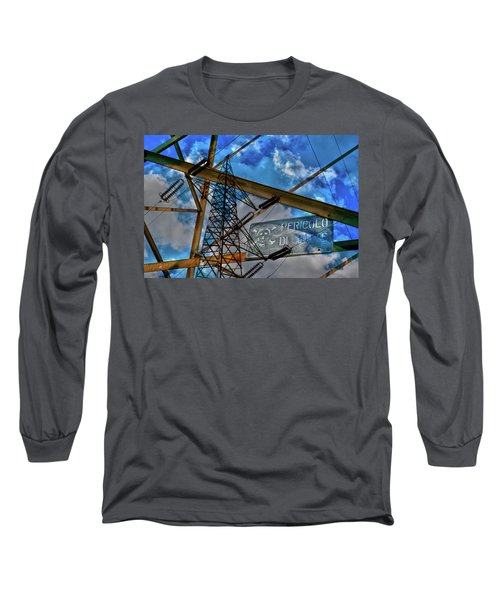 Pericolo Di Morte Long Sleeve T-Shirt by Sonny Marcyan