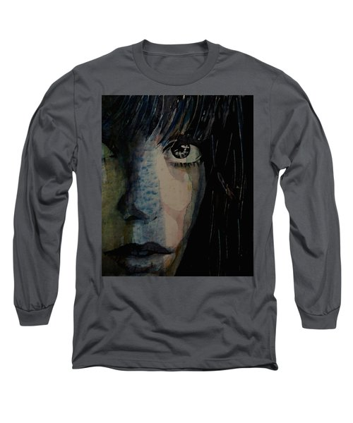 Long Sleeve T-Shirt featuring the painting Periode Bleue by Paul Lovering
