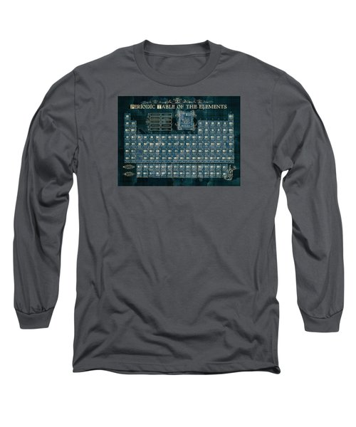 Periodic Table Of The Elements Vintage 4 Long Sleeve T-Shirt
