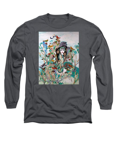Persian Painting # 2 Long Sleeve T-Shirt