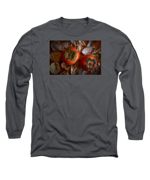 Persimmons 5 Long Sleeve T-Shirt by Ronda Broatch